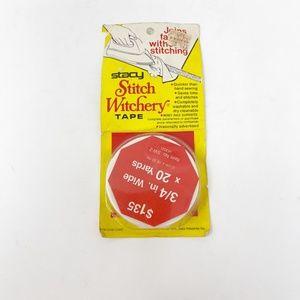 Stacy Fabrics Stitch Witchery Tape Vintage